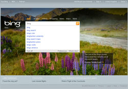 Microsoft Bing´s New Features