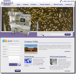 Ohara Tech Website by TechWyse