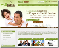 WellPoint Website by TechWyse