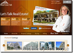 Real Talk Toronto Website by TechWyse